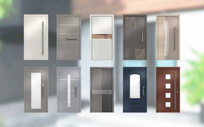 Haustür-Konfigurator – neue Version mit neuen Modellen